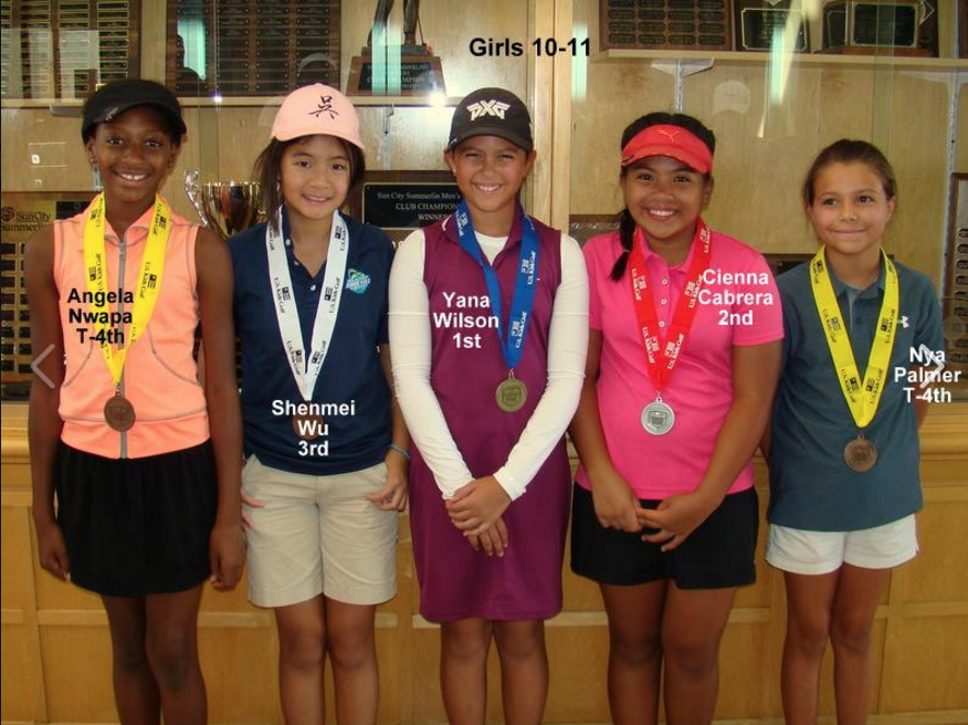 Yana Wins USKids Highland Falls Golf Tournament