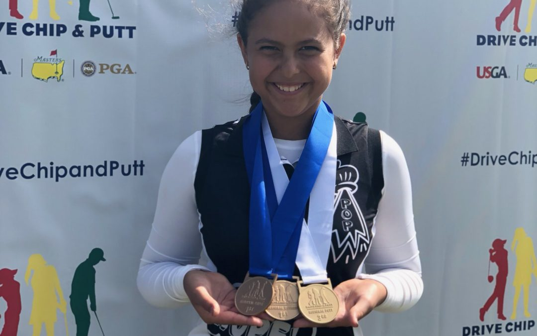 Yana Wilson Advances to Drive Chip & Putt National Finals at Augusta National